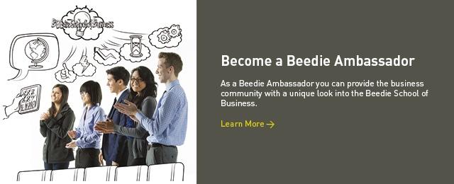 Beedie Ambassadors