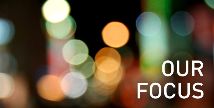 our focus header