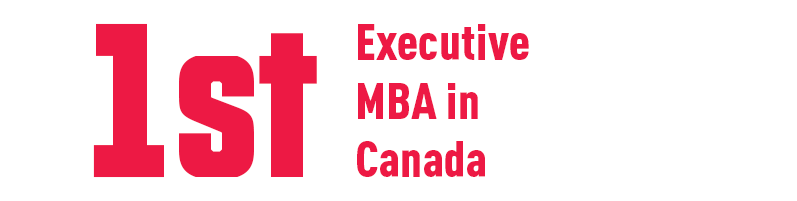 1st Executive MBA in Canada