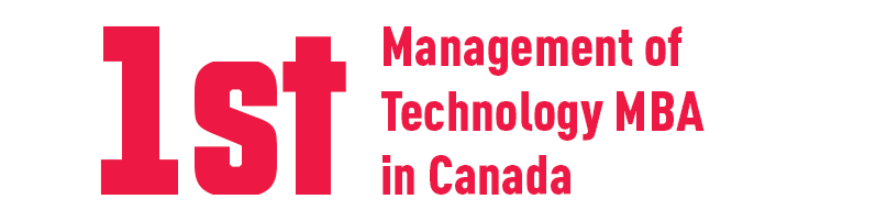 1st Management of Technology MBA in Canada