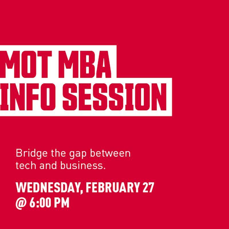 MOT MBA Info Session