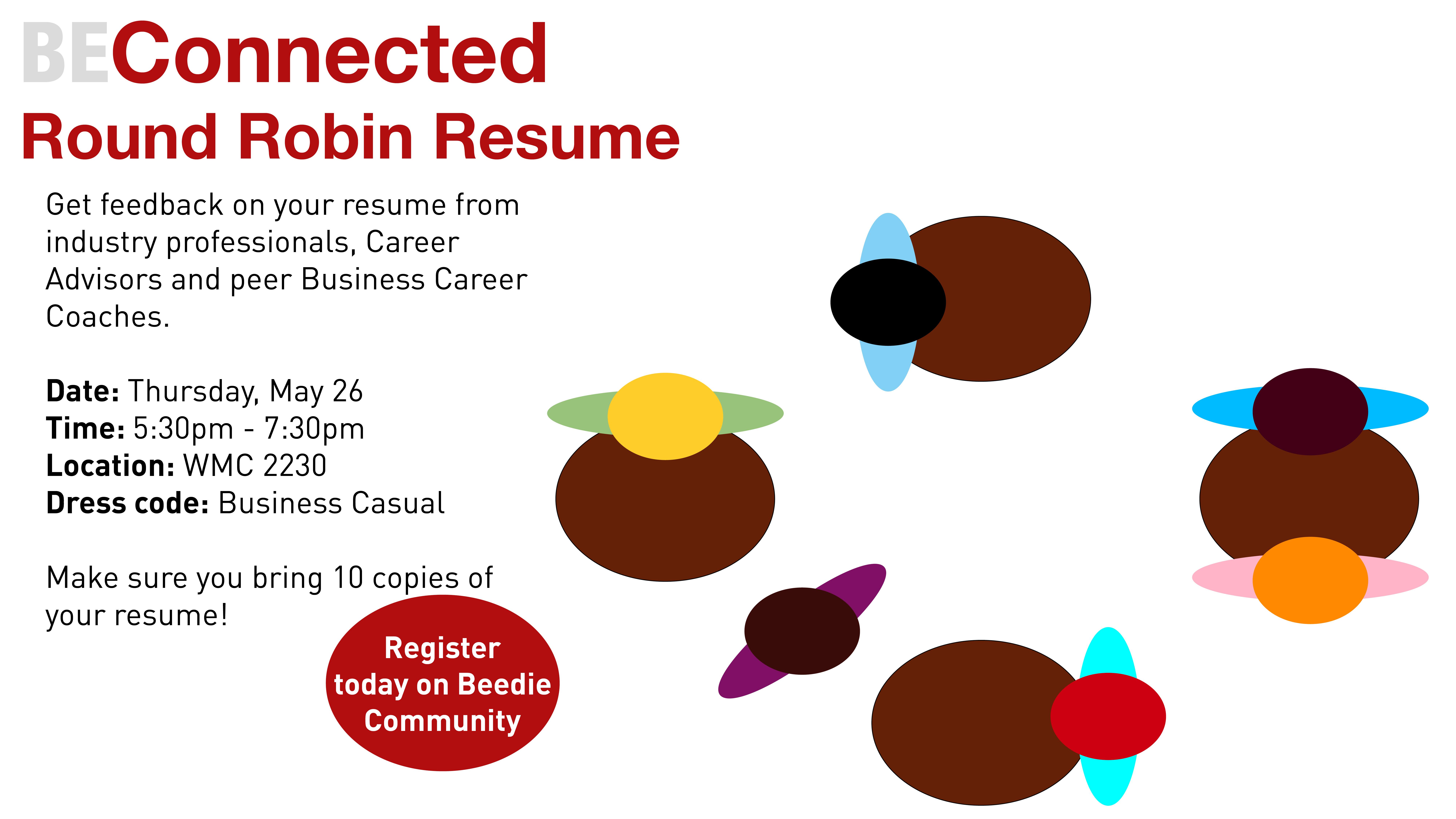 round robin resume event 2016 05 26 beedie dashboard