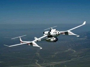 SpaceShipOne, the first private craft capable of ascending to 100km above the Earth's surface, was the winner of an incentive competition by Diamandis' XPRIZE Foundation.