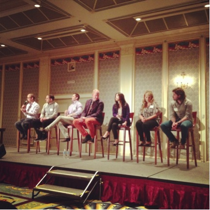 Q&A session at the BCAMA Digital Agency Panel