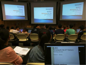 Marketing Lecture, NTU, Singapore