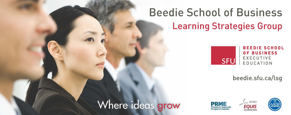 Learning Strategies Group, Beedie School of Business